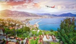 Haftada beş gün Alanya'ya uçuş!