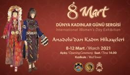 8 Mart dünya kadın gününe özel sergi!