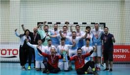 ALKÜ Hentbol takımı 1. lige yükseldi