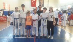 Alanya Belediyespor şampiyonadan 5 madalya ile döndü