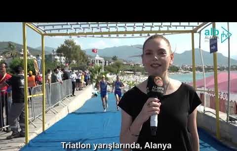 30. Alanya uluslararası triatlon başarıyla sona erdi