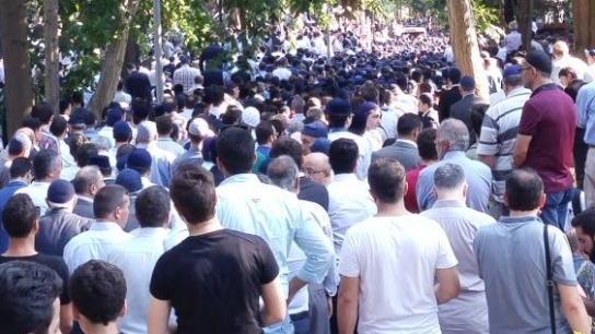 Ahmet Arif Denizolgun son yolculuğuna uğurlanıyor