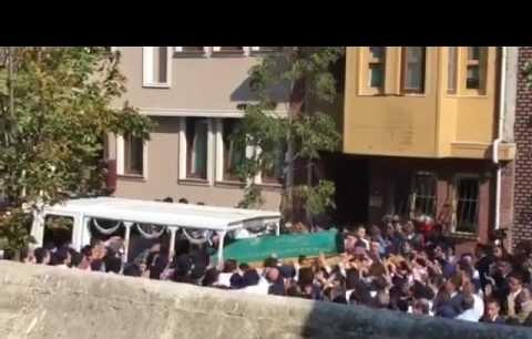 Ahmet Arif Denizolgunun cenaze töreni