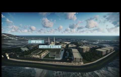 Alanya Alaaddin Keykubat Üniversitesi Kestel Yerleşkesi Master Animasyon Filmi