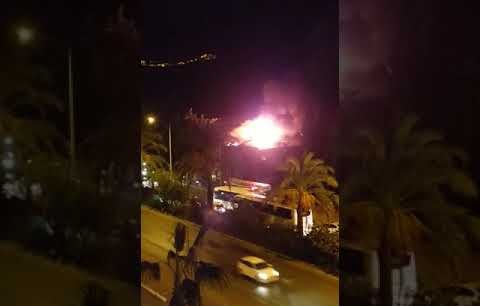 Alanya'daki o otelde korkutan yangın