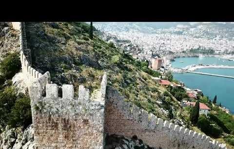 Alanya Turkey Drone footage