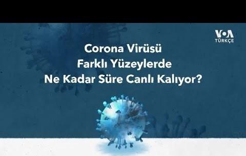 Corona Virüsü Hangi Yüzeylerde Ne Kadar Süre Kalıyor?